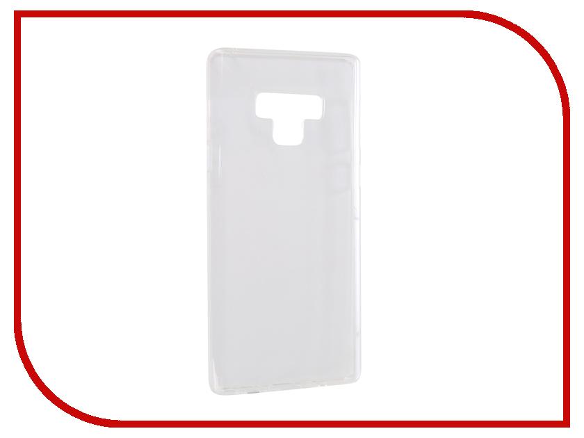 Аксессуар Чехол для Samsung Galaxy Note 9 iBox Crystal Silicone Transparent УТ000016498 protective clear screen protector film guard for samsung galaxy mega 6 3 i9200 transparent