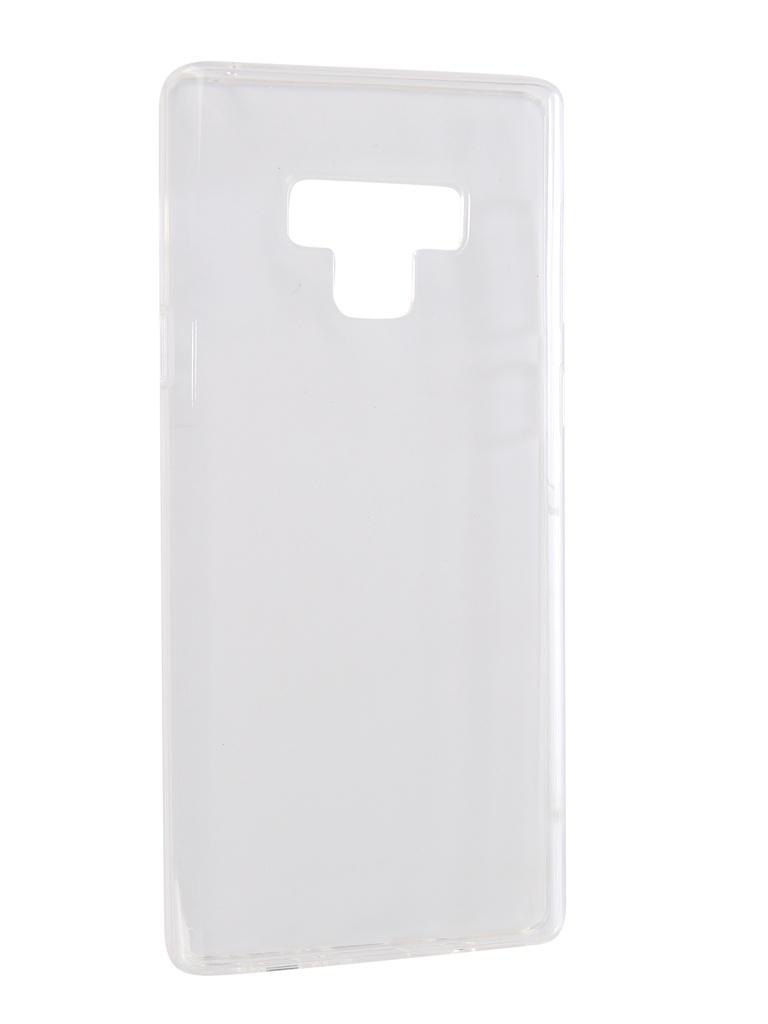 Аксессуар Чехол iBox Crystal Silicone для Samsung Galaxy Note 9 Transparent УТ000016498 аксессуар чехол ibox crystal silicone для samsung galaxy a7 2018 transparent ут000016499