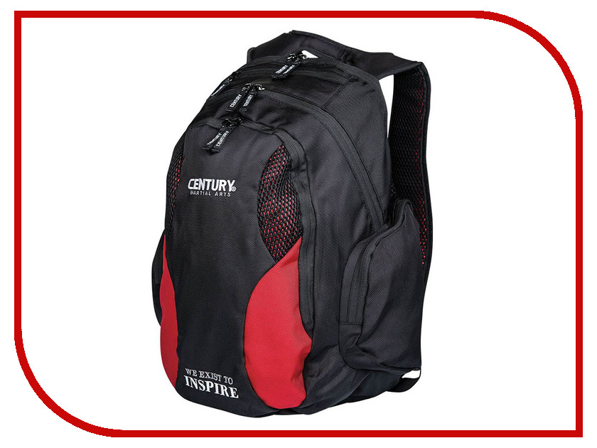 Рюкзак Century Backpack Black-Red 2188