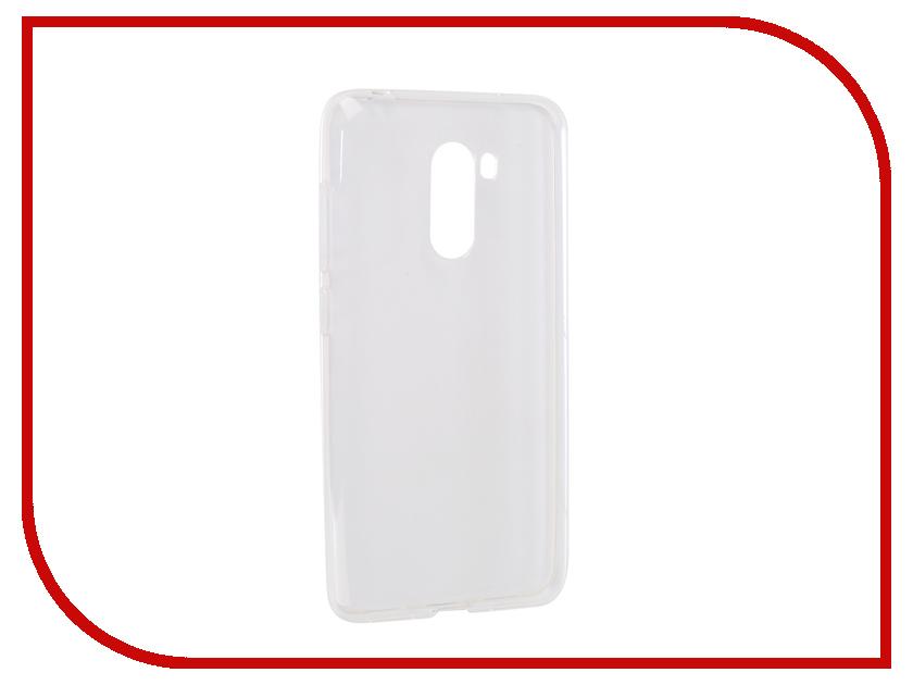 Аксессуар Чехол для Xiaomi Pocophone F1 iBox Crystal Silicone Transparent УТ000016729 kita new and original kp42p 02 f1 high precision digital vacuum pressure switch 100kpa 1000kpa 12 24v