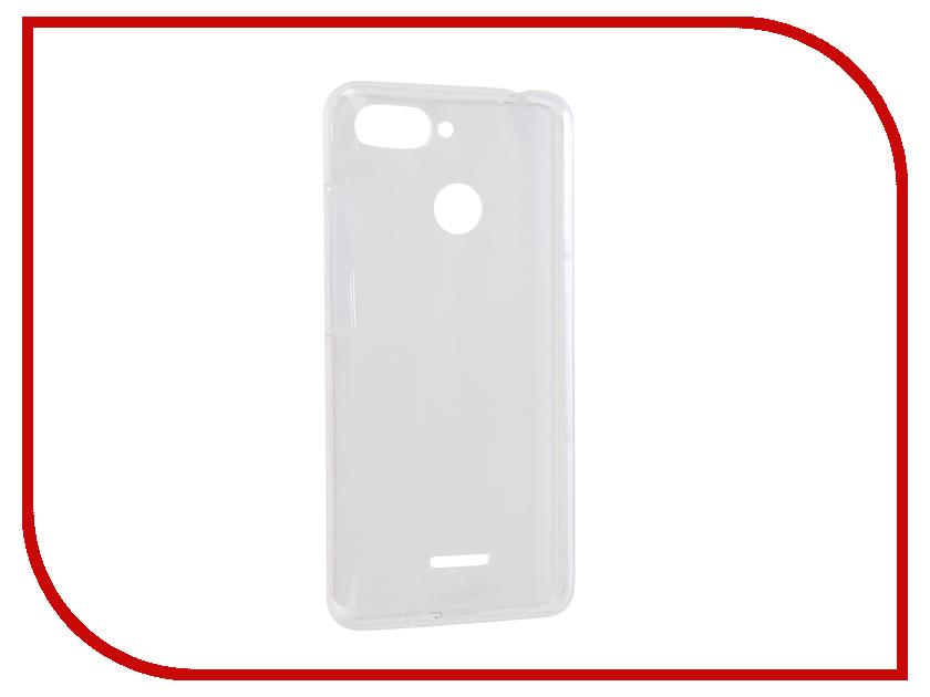 Аксессуар Чехол для Xiaomi Redmi 6 iBox Crystal Silicone Transparent УТ000016727 аксессуар чехол для xiaomi redmi 6 pro gecko transparent white s g xir6pro wh