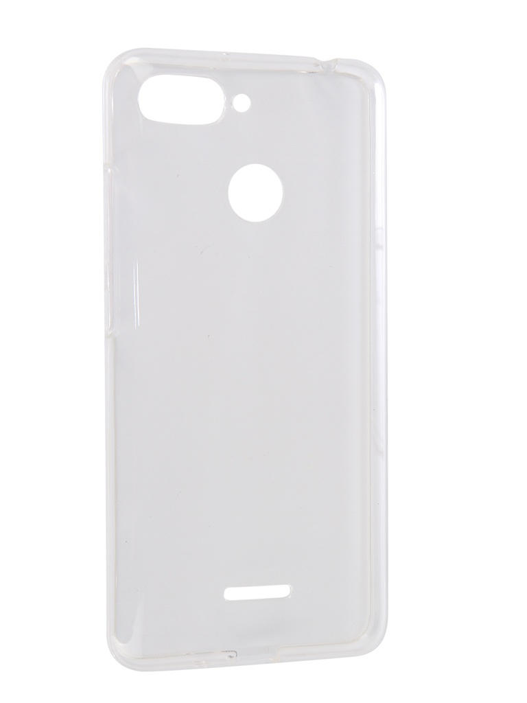Аксессуар Чехол iBox для Xiaomi Redmi 6 Crystal Silicone Transparent УТ000016727