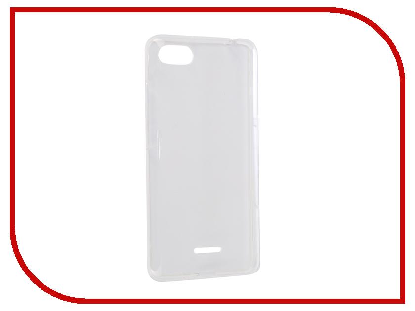 Аксессуар Чехол для Xiaomi Redmi 6A iBox Crystal Silicone Transparent УТ000016479 аксессуар чехол xiaomi redmi 4 ibox blaze silicone black frame