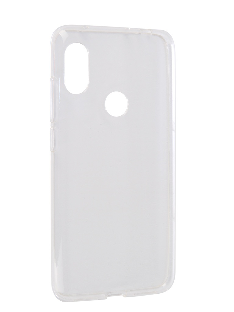 Аксессуар Чехол iBox для Xiaomi Redmi Note 6 Pro Crystal Silicone Transparent УТ000016730 аксессуар чехол для xiaomi redmi 6 pro gecko transparent white s g xir6pro wh