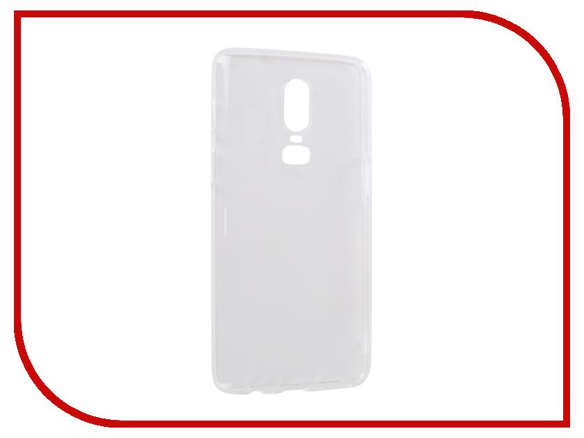 Аксессуар Чехол для OnePlus 6 iBox Crystal Silicone Transparent УТ000016732