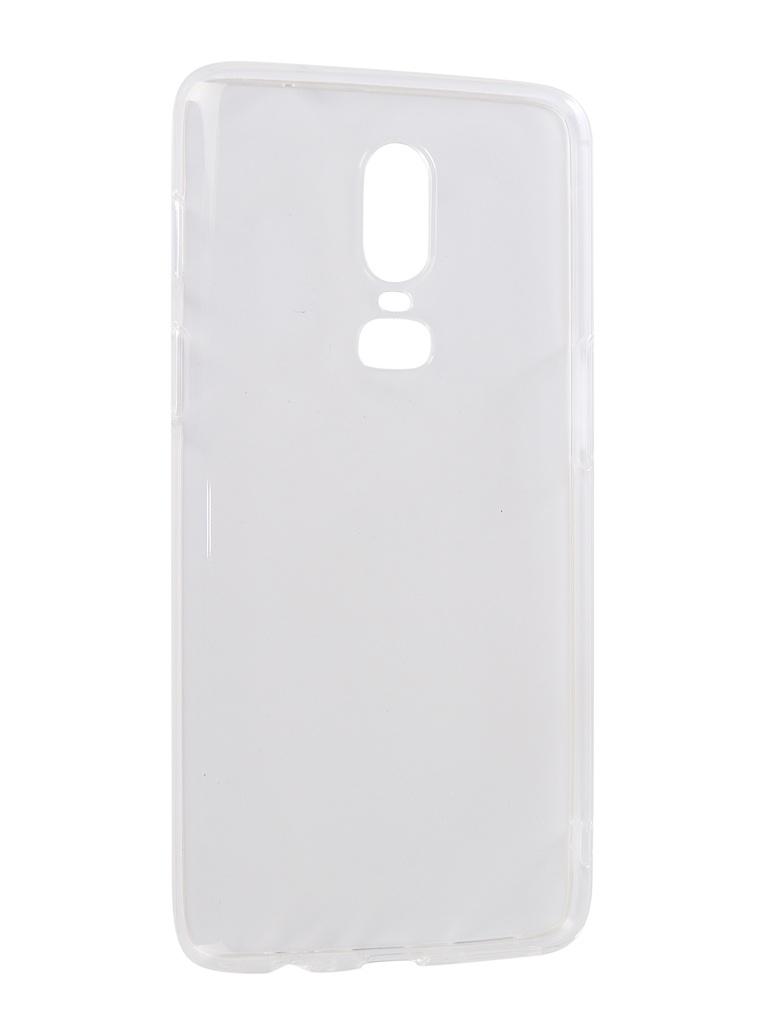 Аксессуар Чехол iBox для OnePlus 6 Crystal Silicone Transparent УТ000016732 gangxun oneplus 6
