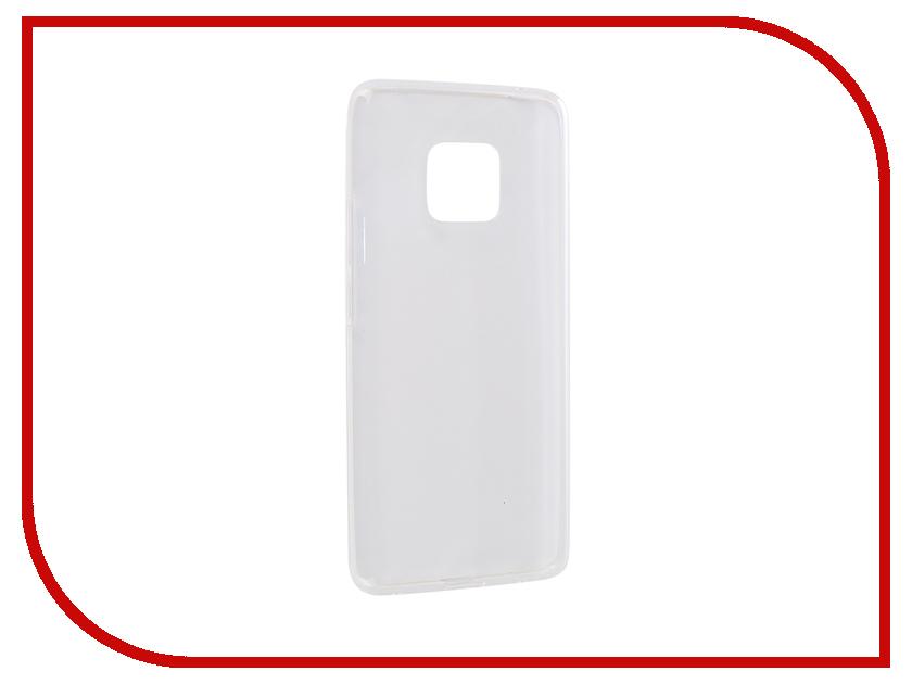 Аксессуар Чехол для Huawei Mate 20 Pro iBox Crystal Silicone Transparent УТ000016734