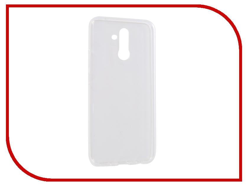 Аксессуар Чехол для Huawei Mate 20 Lite iBox Crystal Silicone Transparent УТ000016728 аксессуар чехол microsoft lumia 550 ibox crystal transparent