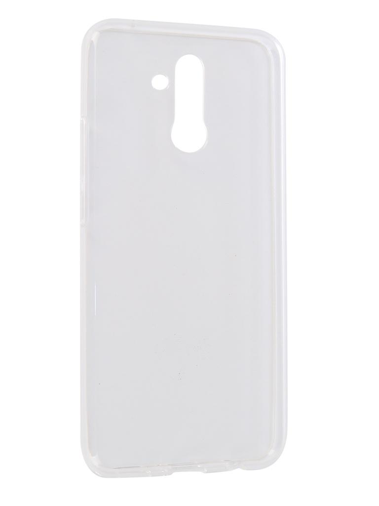 Аксессуар Чехол iBox для Huawei Mate 20 Lite Crystal Silicone Transparent УТ000016728 аксессуар чехол для huawei p20 pro ibox crystal silicone transparent