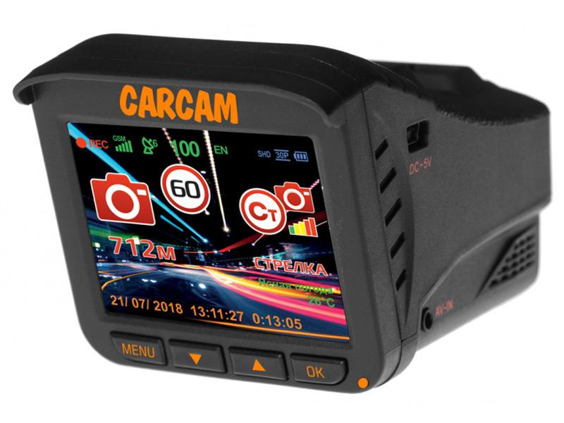 Видеорегистратор Каркам CarCam Combo 5 видеорегистратор каркам z7