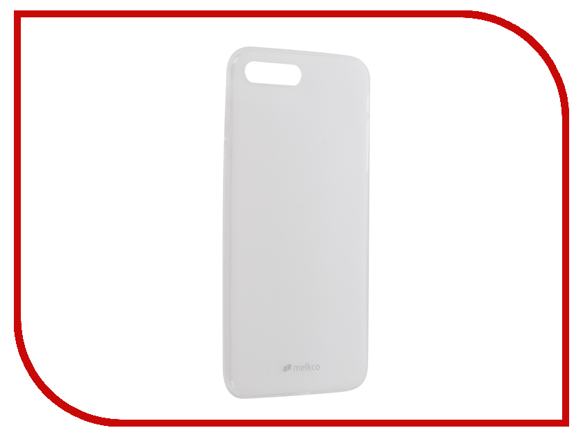 Аксессуар Чехол Melkco TPU Matt Transparent для APPLE iPhone 7 Plus / 8 Plus 12781 аксессуар чехол nillkin nature tpu для iphone 7 8 white n tpu ap iphone7
