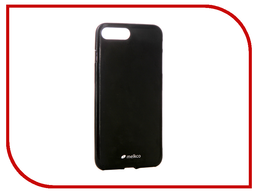 Аксессуар Чехол Melkco TPU Matt Black для APPLE iPhone 7 Plus / 8 Plus 12780 аксессуар чехол nillkin nature tpu для iphone 7 8 white n tpu ap iphone7