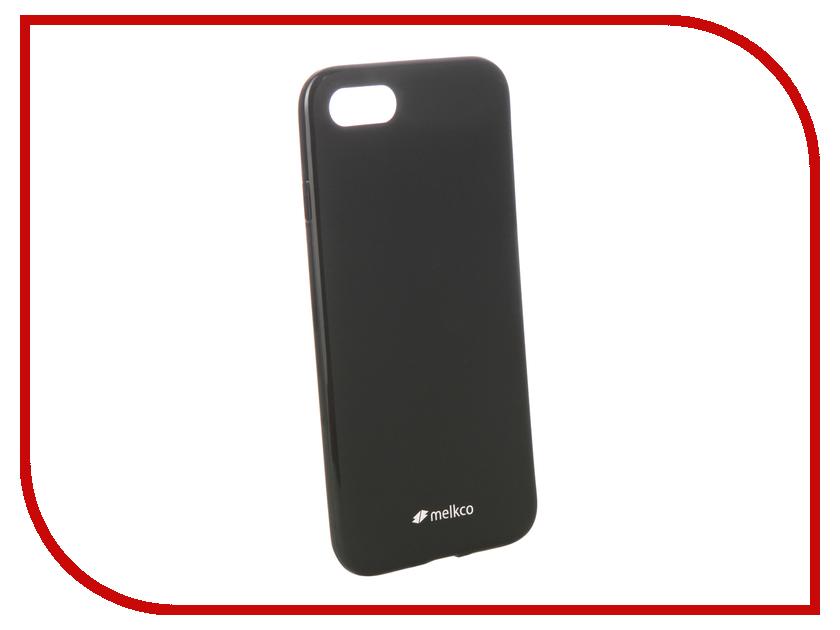 Аксессуар Чехол Melkco TPU Matt Black для APPLE iPhone 7 / 8 12587 чехол для apple iphone 8 7 silicone case white
