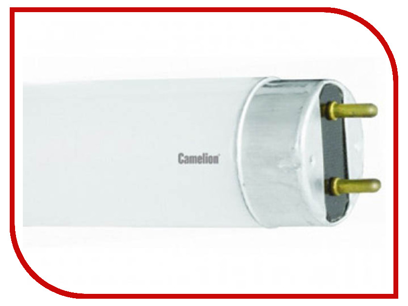 Лампа люминесцентная Camelion FT8 18W Bio ЭН-6191 лампа люминесцентная ft8 15вт 54 g13 6500к