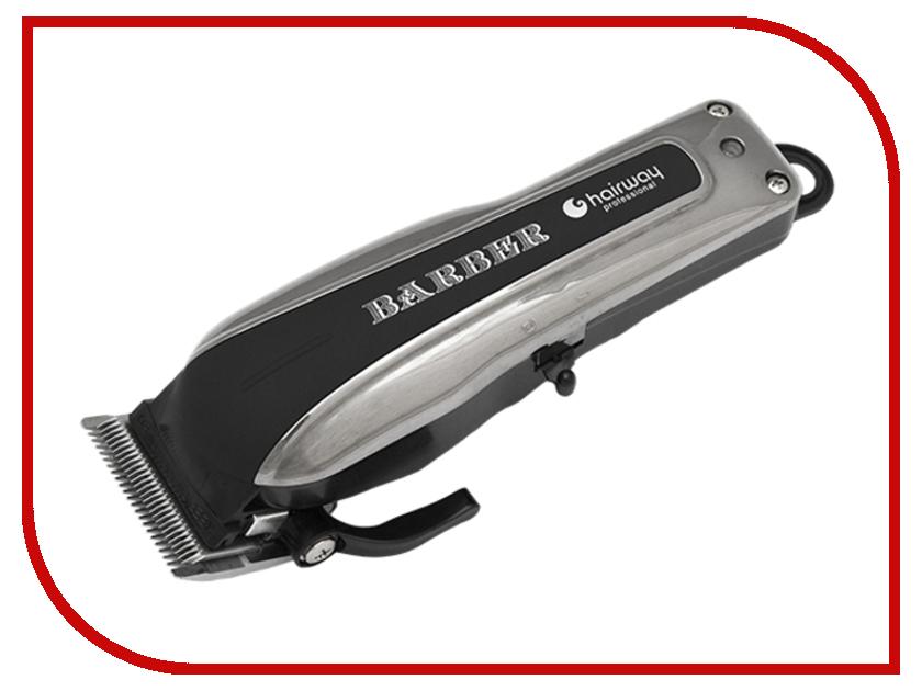 Машинка для стрижки волос HairWay Barber 02051 hairway машинка forsage для стрижки волос аккумуляторно сетевая