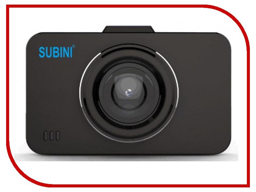 Видеорегистратор Subini GD-675RU Black видеорегистратор advocam fd8 profi black