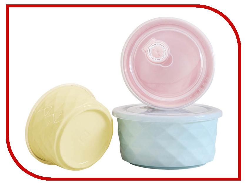 Набор керамических контейнеров Xiaomi Bowl Fresh cartoon bowl