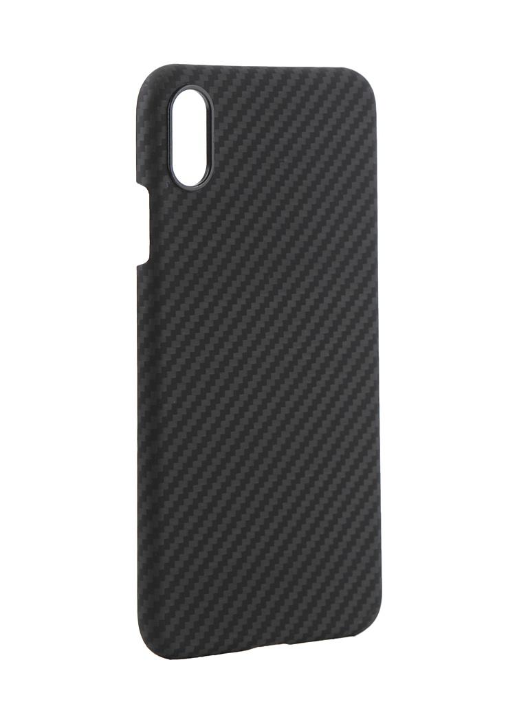 Аксессуар Чехол Pitaka для APPLE iPhone XS Max MagCase Black-Grey KI9001XM аксессуар чехол для apple iphone x pitaka aramid case black yellow twill ki8006x