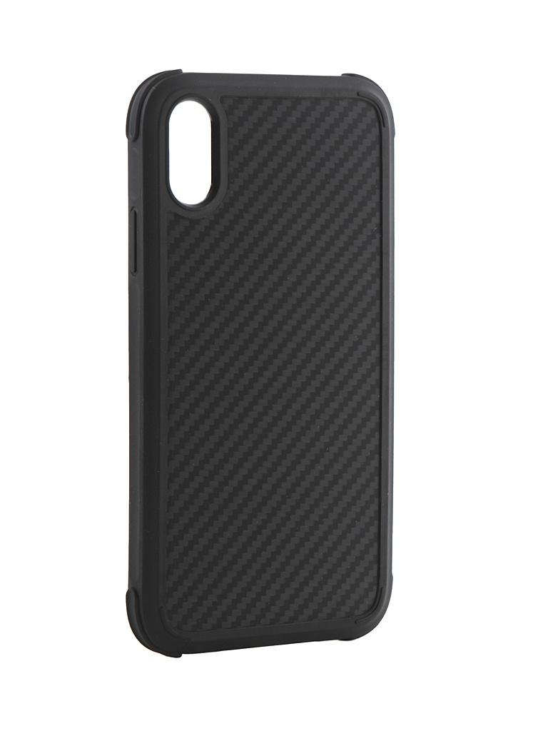 Аксессуар Чехол Pitaka для APPLE iPhone XR MagCase Pro Black-Grey KI9001XRP аксессуар чехол для apple iphone x pitaka aramid case black yellow twill ki8006x