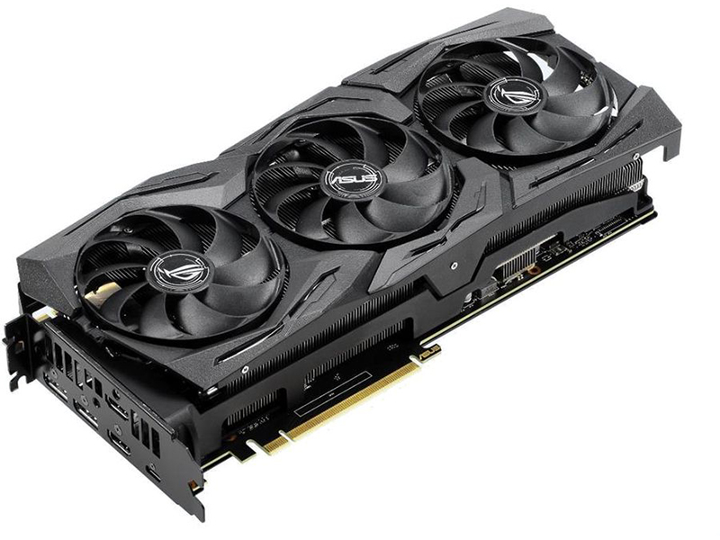 Видеокарта ASUS GeForce RTX 2080 1515MHz PCI-E 3.0 8192MB 14000MHz 256 bit 2xHDMI HDCP Strix Gaming OC ROG-STRIX-RTX2080-O8G-GAMING