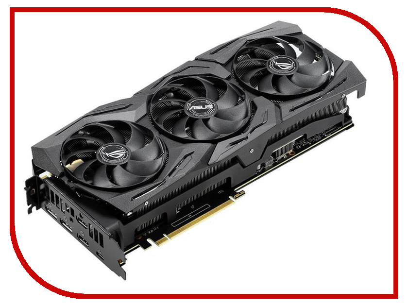 Видеокарта ASUS GeForce RTX 2080 MHz PCI-E 3.0 8192MB MHz 256 bit 2xHDMI HDCP Strix Advanced Gaming ROG-STRIX-RTX2080-A8G-GAMING pci e to