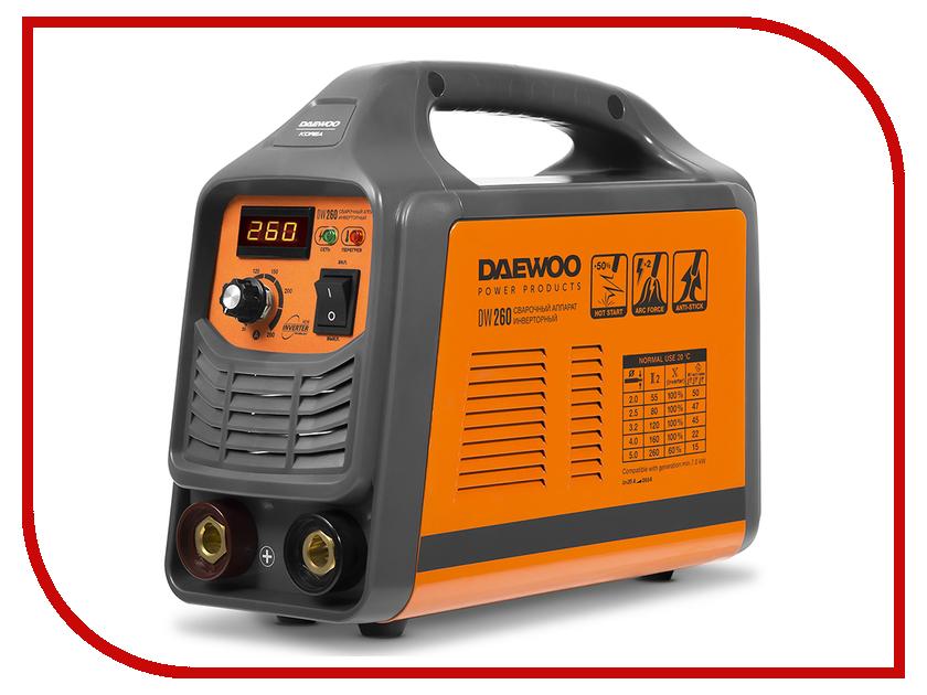 Сварочный аппарат Daewoo DW 260 сварочный аппарат daewoo dw 160 mma