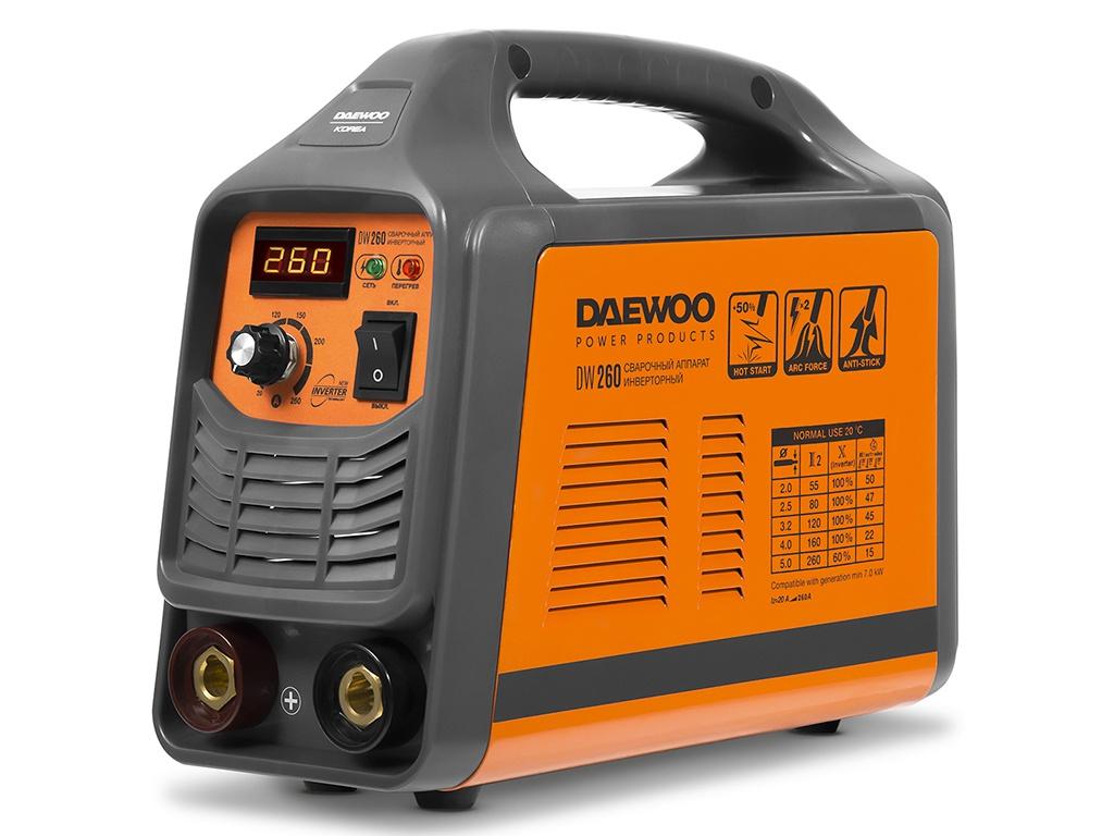 купить Сварочный аппарат Daewoo DW 260 по цене 10700 рублей