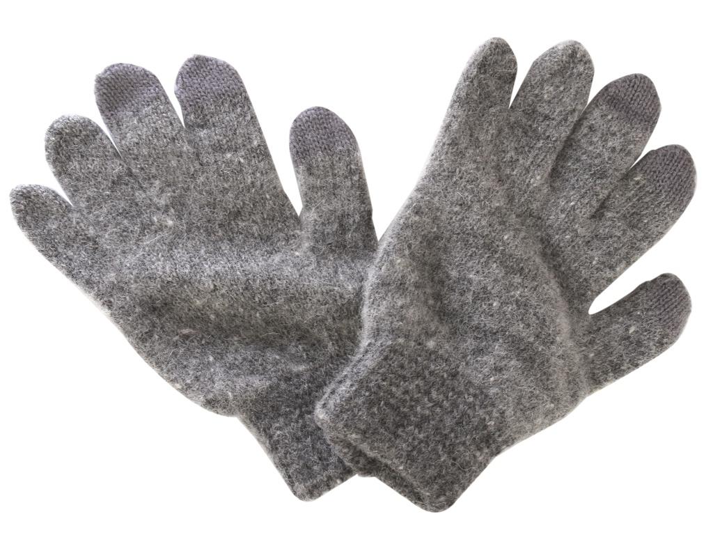 Теплые перчатки для сенсорных дисплеев iGlover Zima S Grey