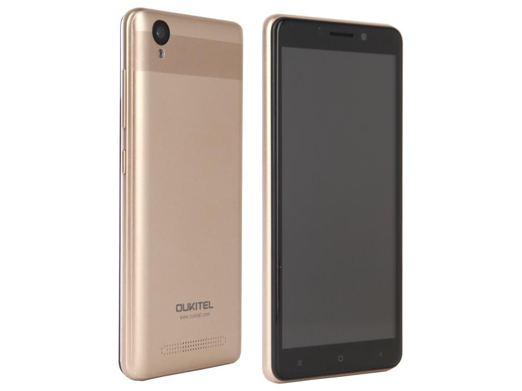 Сотовый телефон Oukitel C10 Gold сотовый телефон oukitel c8 4g black