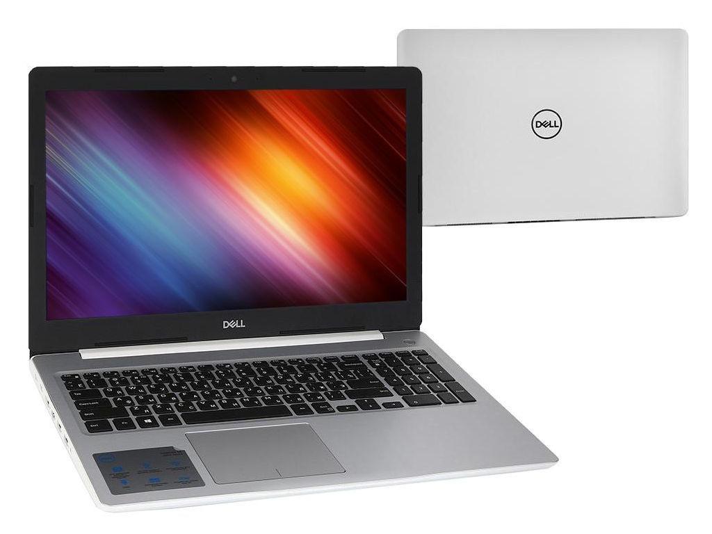 Ноутбук Dell Inspiron 5570 White 5570-5826 (Intel Core i5-8250U 1.6 GHz/8192Mb/1000Gb/DVD-RW/AMD Radeon 530 2048Mb/Wi-Fi/Bluetooth/Cam/15.6/1920x1080/Linux)