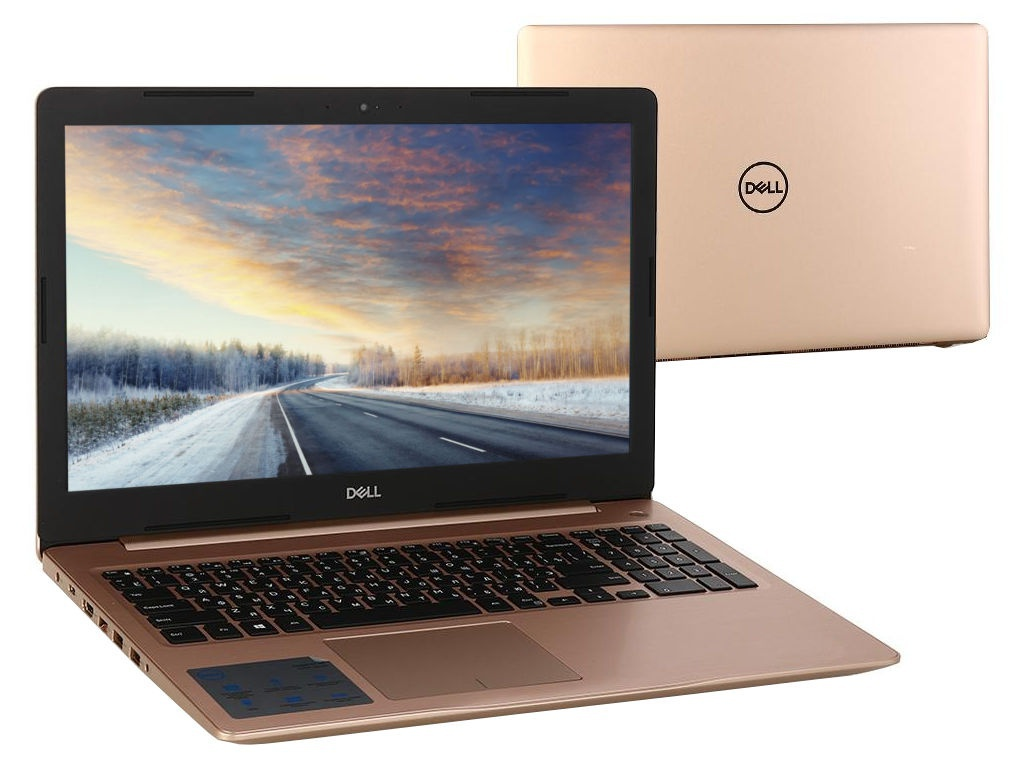 Ноутбук Dell Inspiron 5570 Gold 5570-5840 (Intel Core i5-8250U 1.6 GHz/8192Mb/1000Gb/DVD-RW/AMD Radeon 530 2048Mb/Wi-Fi/Bluetooth/Cam/15.6/1920x1080/Linux) системный блок dell optiplex 3050 sff i3 6100 3 7ghz 4gb 500gb hd620 dvd rw linux клавиатура мышь черный 3050 0405