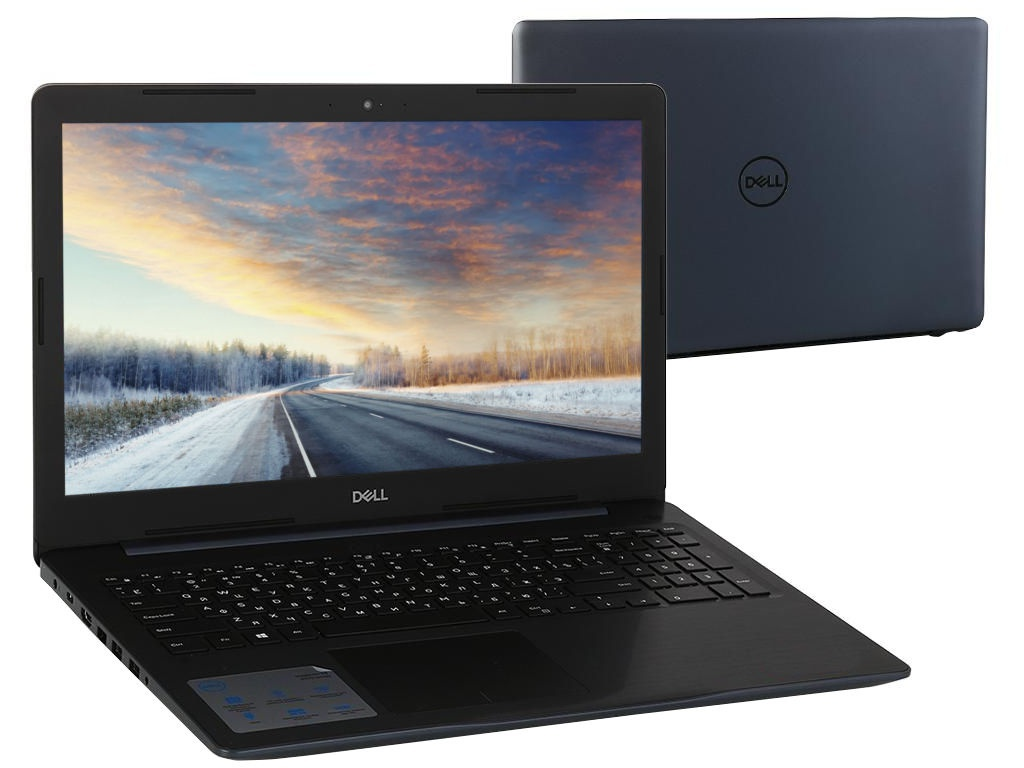 Ноутбук Dell Inspiron 5570 Blue 5570-5833 (Intel Core i5-8250U 1.6 GHz/8192Mb/1000Gb/DVD-RW/AMD Radeon 530 2048Mb/Wi-Fi/Bluetooth/Cam/15.6/1920x1080/Linux)