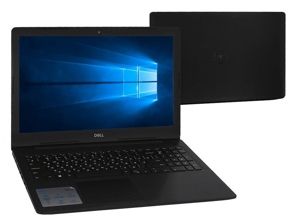 Ноутбук Dell Inspiron 5570 Black 5570-7802 (Intel Core i5-8250U 1.6 GHz/4096Mb/1000Gb/DVD-RW/AMD Radeon 530 2048Mb/Wi-Fi/Bluetooth/Cam/15.6/1920x1080/Windows 10 Home 64-bit