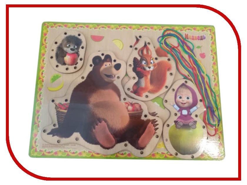 Купить Игрушка Буратино Маша и Медведь Шнуровка 160221-2