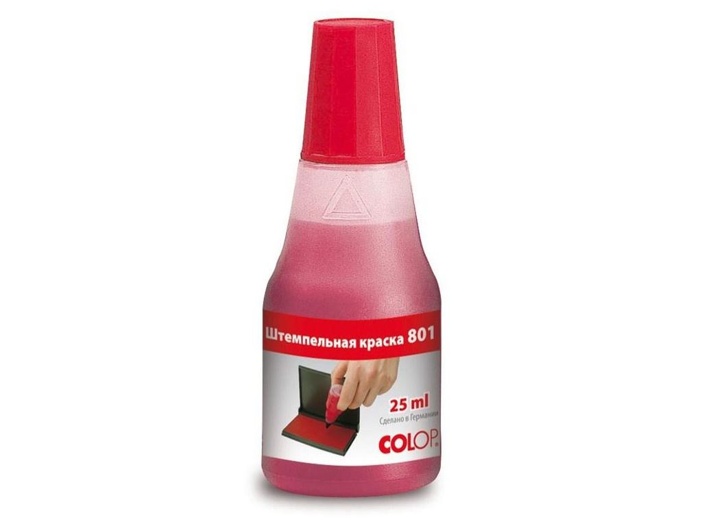 Аксессуар Краска штемпельная Colop 801 25ml Red