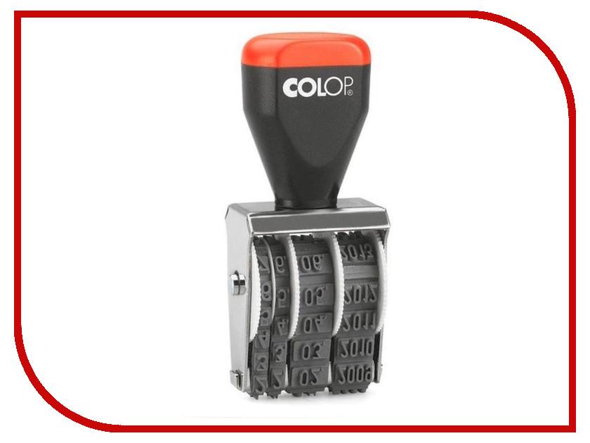 Датер ручной Colop 09000 9mm датер автоматический colop printer 55 dater bank set 60x4mm 275518