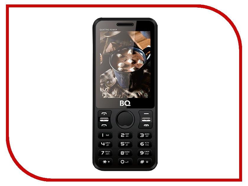 Сотовый телефон BQ 2812 Quattro Power Black сотовый телефон senseit t100 black