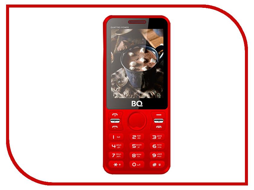 Сотовый телефон BQ 2812 Quattro Power Red сотовый телефон archos sense 55dc 503438