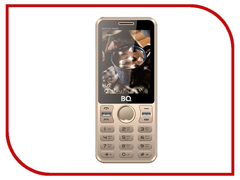 Сотовый телефон BQ 2812 Quattro Power Gold сотовый телефон bq 5032 element gold
