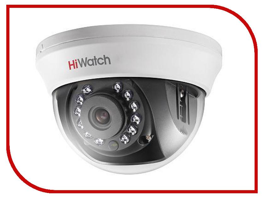 Аналоговая камера HiWatch DS-T101 6mm аналоговая камера hiwatch ds t106 2 8 12mm