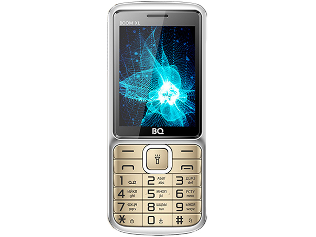 Сотовый телефон BQ 2810 Boom XL Gold сотовый телефон bq 2810 boom xl black