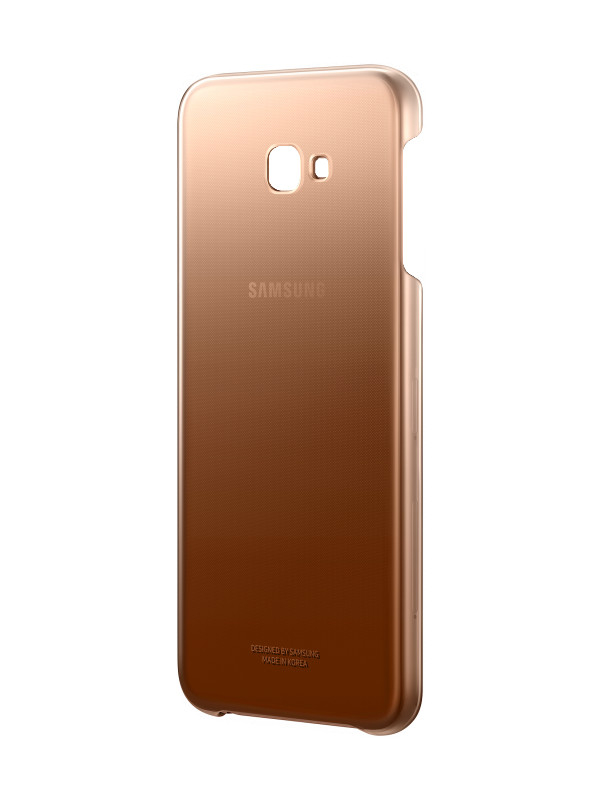 Аксессуар Чехол Samsung Galaxy J4 Plus J415 EF-AJ415CFEGRU Gradation Cover Gold стоимость