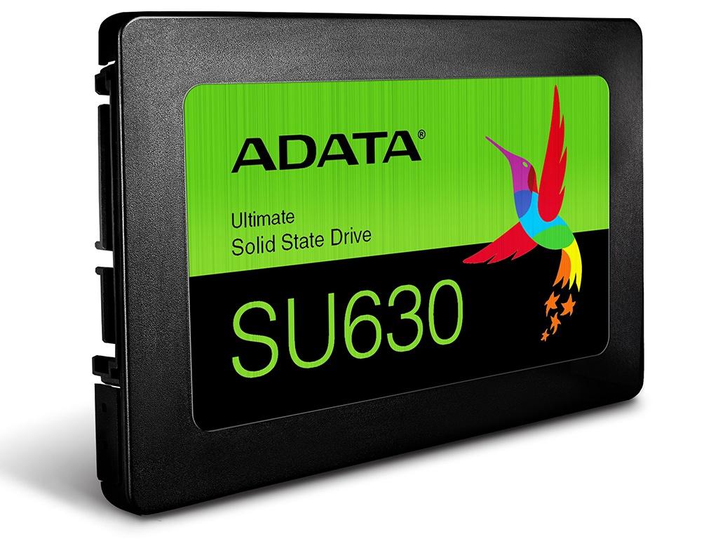 Жесткий диск 960Gb - A-Data SU630SS Black ASU630SS-960GQ-R