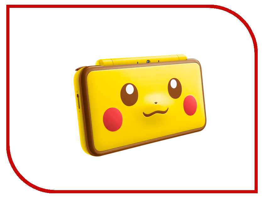 Игровая приставка Nintendo 2DS XL Pikachu Edition ConNd2D13 игровая приставка nintendo 2ds xl white lime mario kart 7 connd2d15