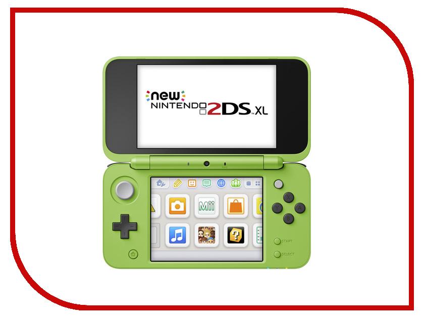 Игровая приставка Nintendo 2DS XL Green Creeper + Minecraft ConNd2D18 sharp replacement upper lcd screen module for nintendo dsi xl ll