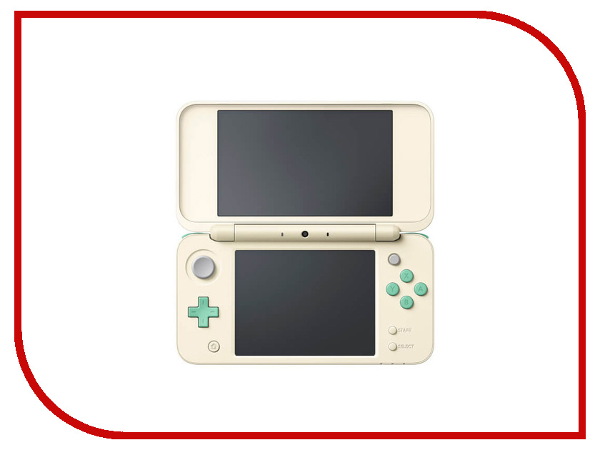 Игровая приставка Nintendo 2DS XL Animal Crossing Edition ConNd2D16 игровая приставка nintendo 2ds xl white lime mario kart 7 connd2d15