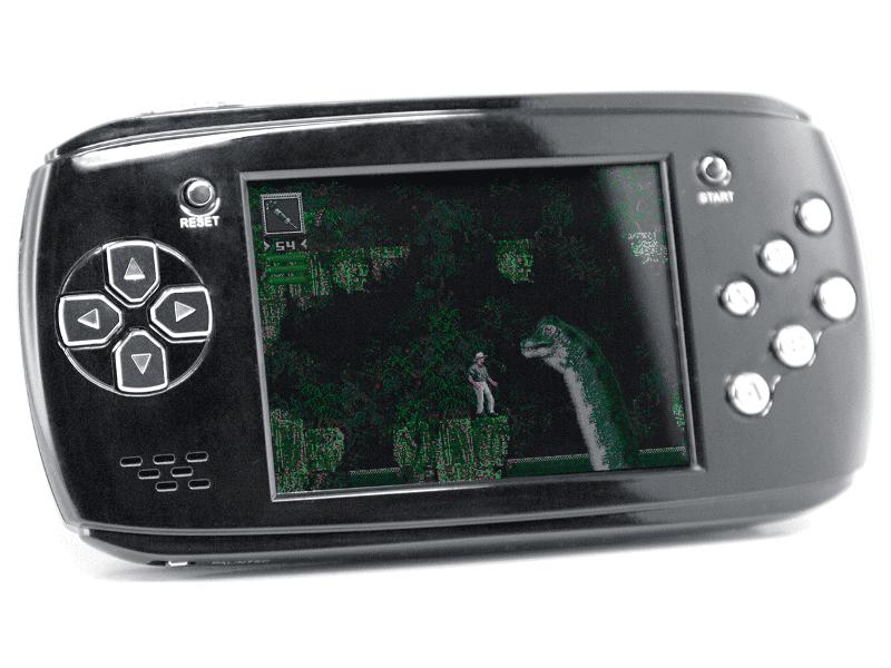 Игровая приставка DVTech Scout Classic 16 bit Black + 9 игр