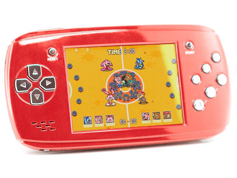 купить Игровая приставка DVTech Scout Classic 16 bit Red + 9 игр онлайн