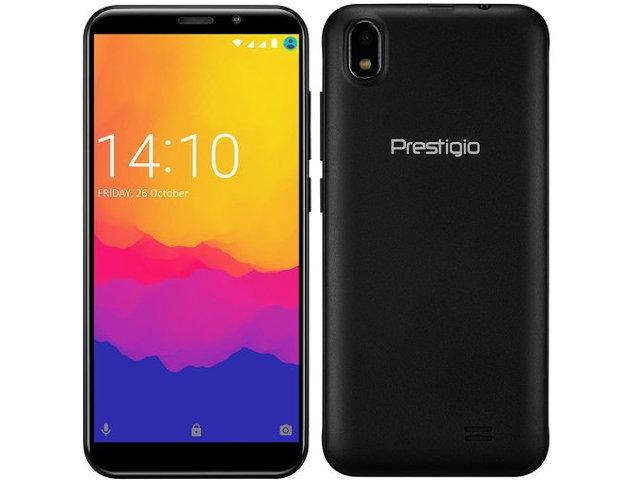 Сотовый телефон Prestigio Muze V3 LTE Black сотовый телефон prestigio 1240 wize c1 black pfp1240duoblack