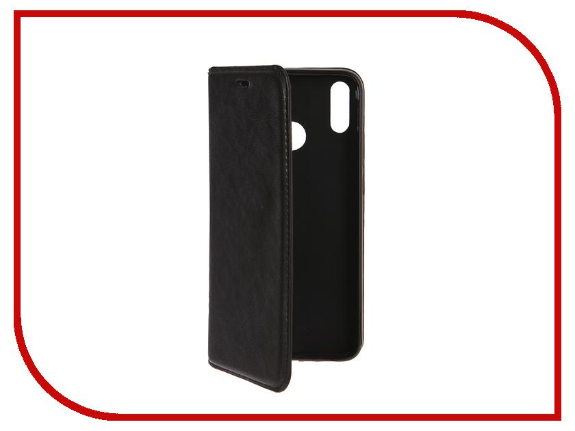 Аксессуар Чехол-книжка для Huawei Honor 8X Gurdini Premium Silicone Black 907599 аксессуар чехол для huawei honor 7a pro gurdini premium silicone champagne 906541
